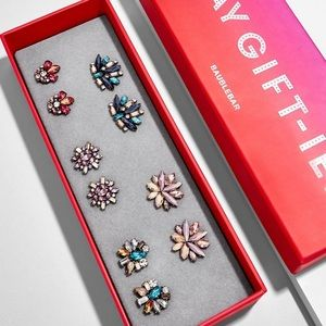 NWOT Baublebar Way Gift-ier Earring Set